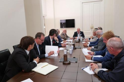 19 de septiembre de 2019. Primera reunión del Patronato de la Fundación Nacional Hermandad de la Guardia Civil, presidida por Eduardo Montolio