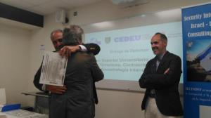 Entrega de diplomas del curso de Experto universitario en terrorismo, contrainteligencia y geoestrategia internacional. Julio 2017